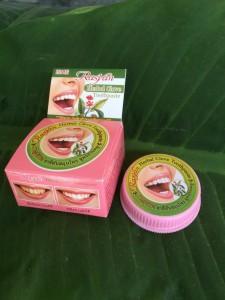 Травяная гвоздичная зубная паста