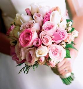 букет свадьба ампир