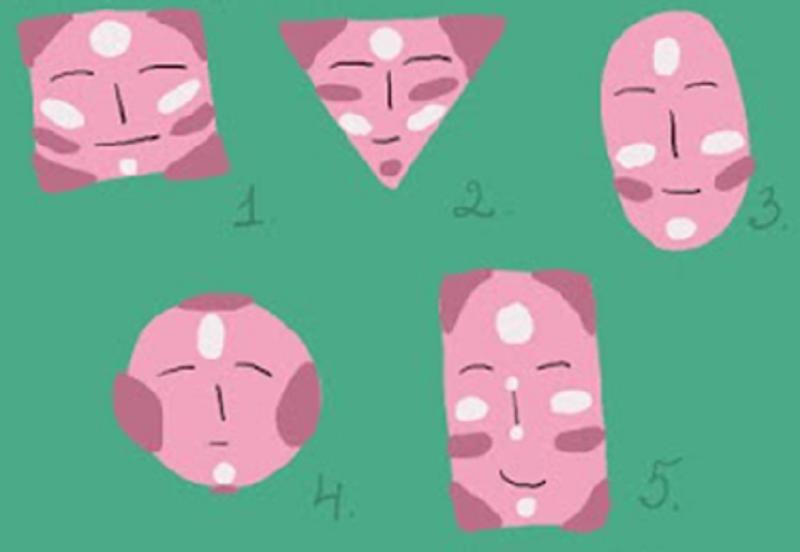 Моделирование овала лица
